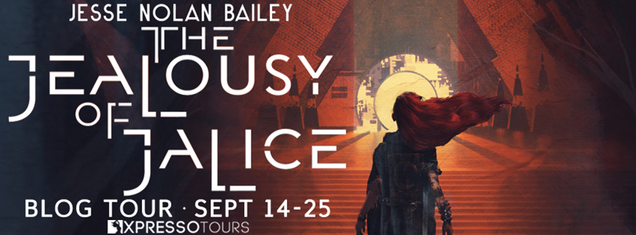 Welcome to the blog tour for THE JEALOUSY OF JALICE, the first book in the adult dark fantasy series, A Disaster of Dokojin, by Jesse Nolan Bailey