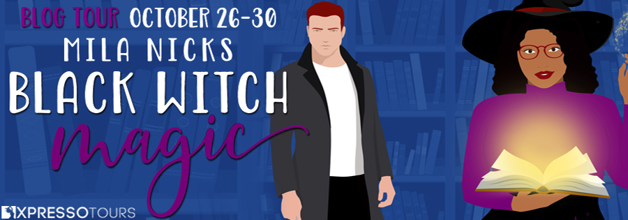 Welcome to the blog tour for BLACK WITCH MAGIC, a stand-alone adult paranormal romance, by Mila Nicks