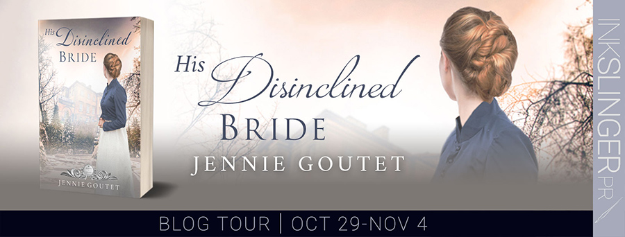 Welcome to the blog tour for HIS DISINCLINED BRIDE, the seventh book in the adult historical regency romance series, Seasons of Change, by Jennie Goutet