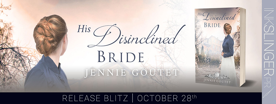 Today is release day for HIS DISINCLINED BRIDE, the seventh book in the adult historical regency romance series, Seasons of Change, by Jennie Goutet