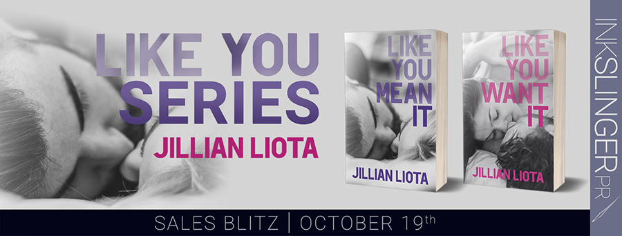 Welcome to the sales blitz for the adult contemporary romance duet, Like You, by Jillian Liota.