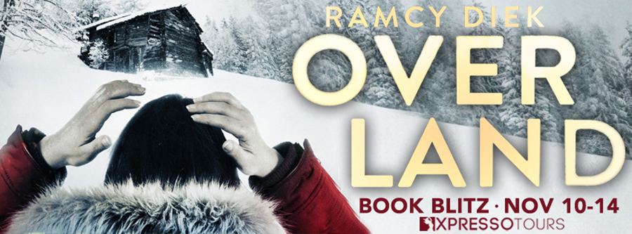 Welcome to the book blitz for OVERLAND, a stand-alone adult romantic thriller, by Ramcy Diek