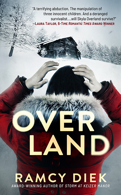 OVERLAND, a stand-alone adult romantic thriller, by Ramcy Diek