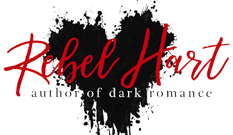 Dark Romance Author, Rebel Hart