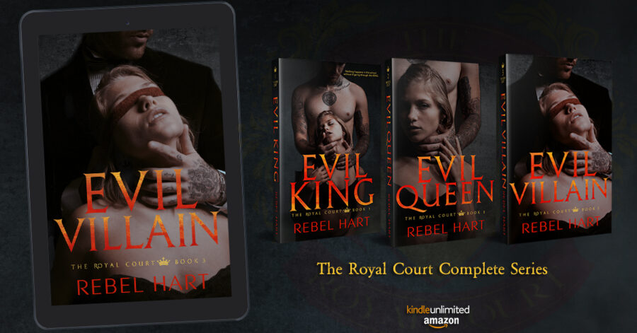 Get caught up on The Royal Court Series, a new adult contemporary romance series by Rebel Hart