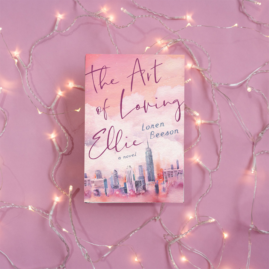 THE ART OF LOVING ELLIE, a stand-alone adult adult contemporary romance, by Loren Beeson