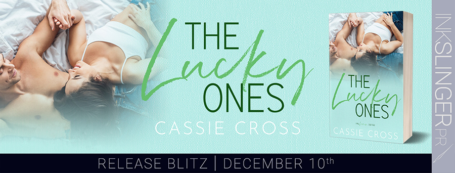 Today is release day for THE LUCKY ONES, the seventh book in the adult contemporary romance series, Love Is..., by Cassie Cross