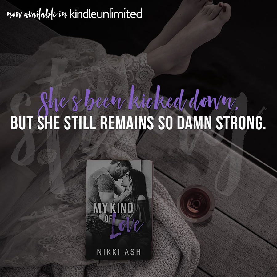 Teaser from MY KIND OF LOVE, the first book in the new adult contemporary/military romance series, Finding Love, by Nikki Ash