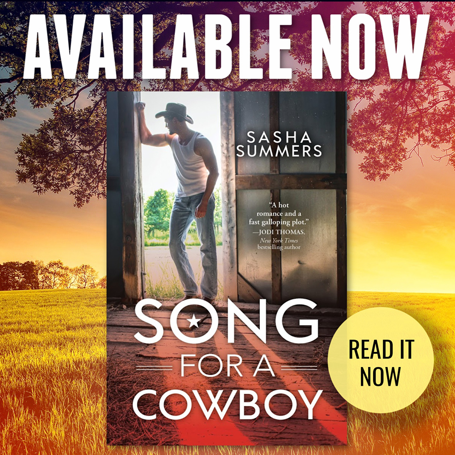 Read SONG FOR A COWBOY, the second book in the adult contemporary romance series, Kings of Country, by Sasha Summers Now