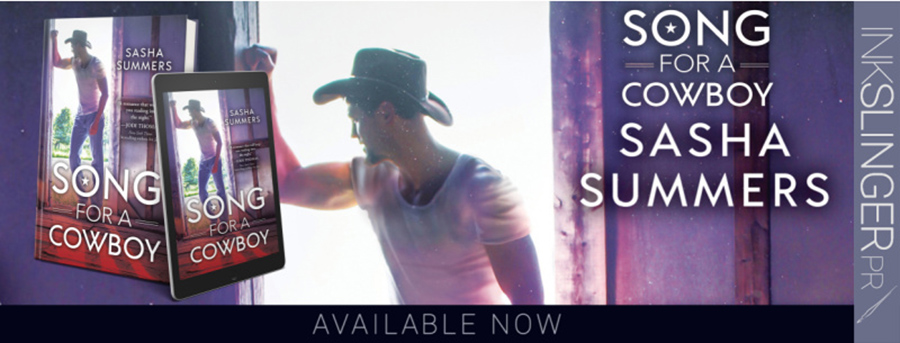 Welcome to the blog tour for SONG FOR A COWBOY, the second book in the adult contemporary romance series, Kings of Country, by Sasha Summers