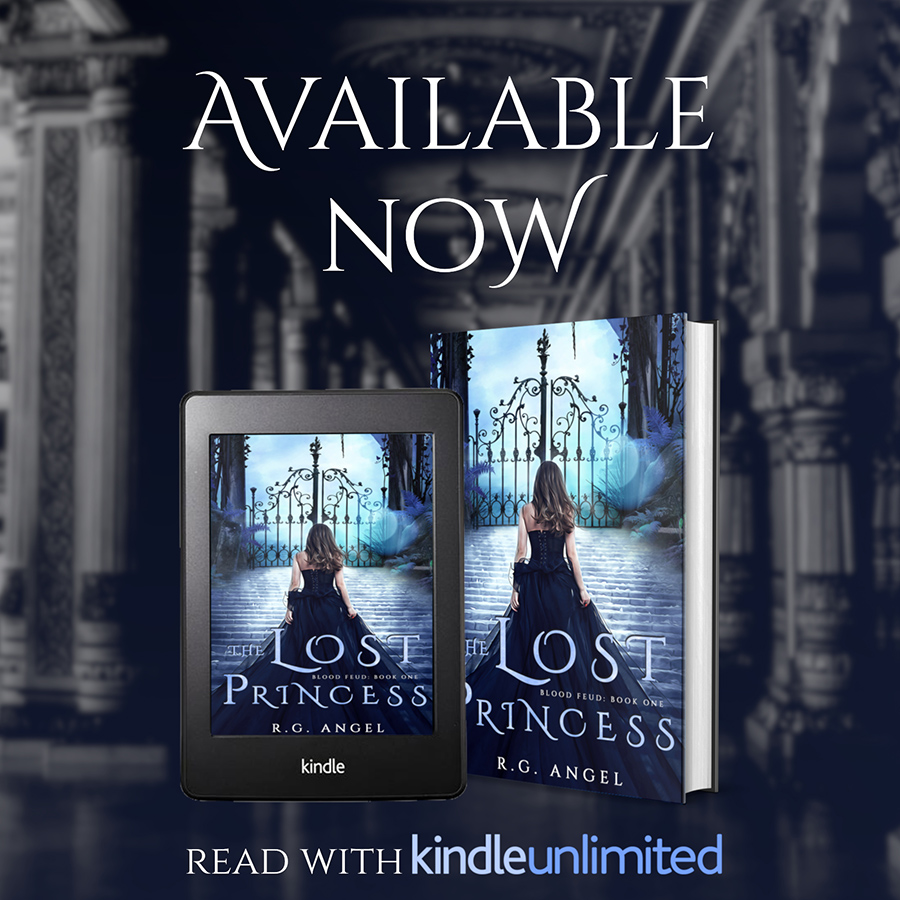 Read THE LOST PRINCESS, the first book in the adult fantasy romance series, Blood Feud, by R.G. Angel on Kindle Unlimited