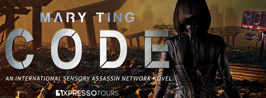 Vesuvian Books and author Mary Ting are unveiling the cover to CODE, the fourth book in the young adult science fiction/dystopian series, ISAN, releasing April 20, 2021