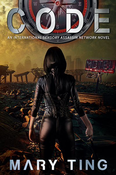 CODE, the fourth book in the young adult science fiction/dystopian series, ISAN, by Mary Ting