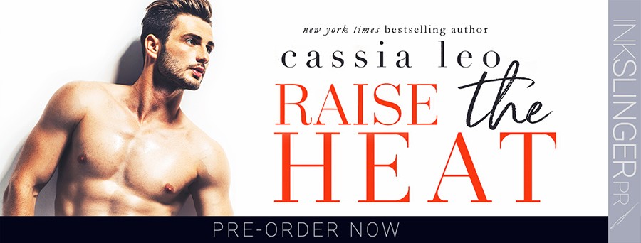 Welcome to the preorder blitz for RAISE THE HEAT, the second book in the adult contemporary romance series, Beastly Bosses, by New York Times bestselling author Cassia Leo, releasing February 23, 2021