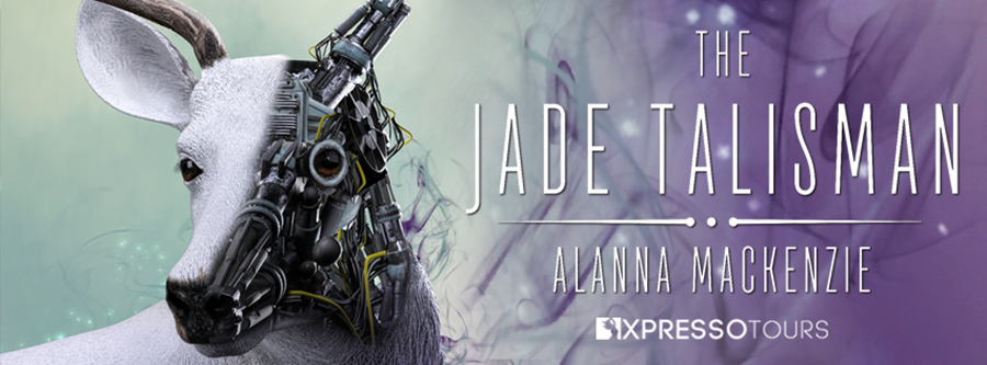 Author Alanna Mackenzie is unveiling the cover to THE JADE TALISMAN, the second book in her adult science fiction/dystopian series, The Jade Chronicles, releasing March 28, 2021