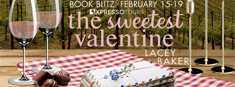 Welcome to the book blitz for THE SWEETEST VALENTINE, the first book in the adult contemporary romance series, Sweetland Valley, by Lacey Baker