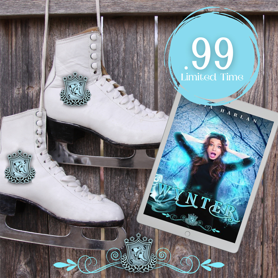 Get WYNTER, the first book in the adult paranormal romantic comedy series, Silver Skates, by Mia Harlan, for just $0.99 for a limited time!
