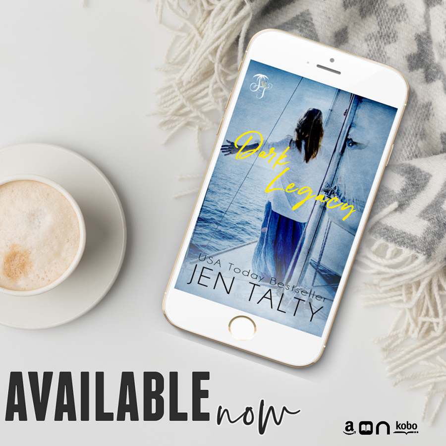 DARK LEGACY, the first book in the adult romantic suspense series, by USA Today bestselling author, Jen Talty, is available now!
