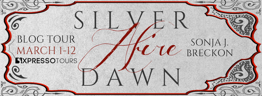 Welcome to the blog tor for SILVER DAWN AFIRE, the first book in the young adult fantasy series, The Seventh Age Saga, by Sonja J. Breckon