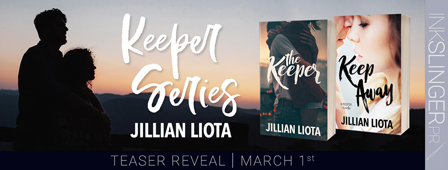 Welcome to the series blitz for the Keeper series an adult contemporary romance duology by Jillian Liota.