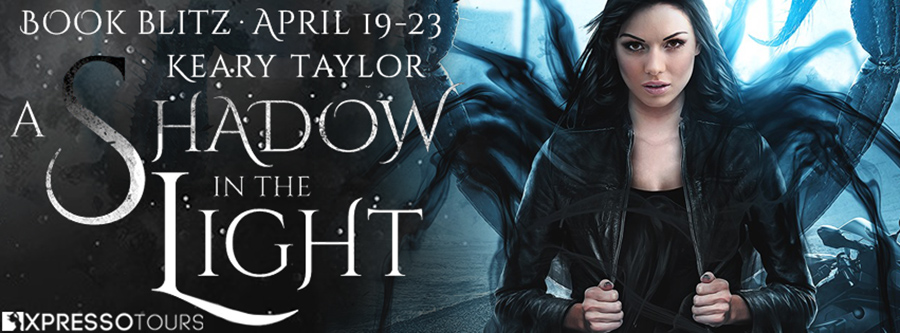 Welcome to the book blitz for A SHADOW IN THE LIGHT, the first book in the adult paranormal romance series, Parallel Verse Guardians, by USA Today bestselling author, Keary Taylor