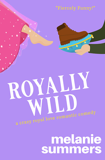 ROYALLY CRUSHED, the second book in the adult contemporary romantic comedy series, Crazy Royal Love, by Melanie Summers
