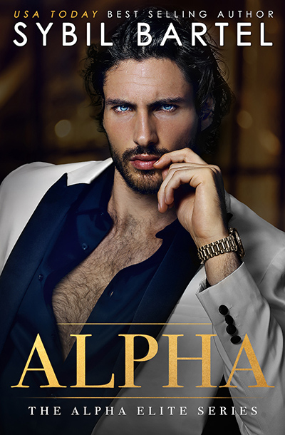 ALPHA, the first book in her adult contemporary romance/romantic suspense series, Alpha Elite, by USA Today bestselling author Sybil Bartel