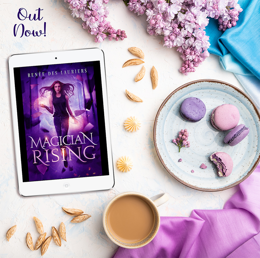MAGICIAN RISING, a stand-alone new adult urban fantasy, by Renée des Lauriers is Out Now!