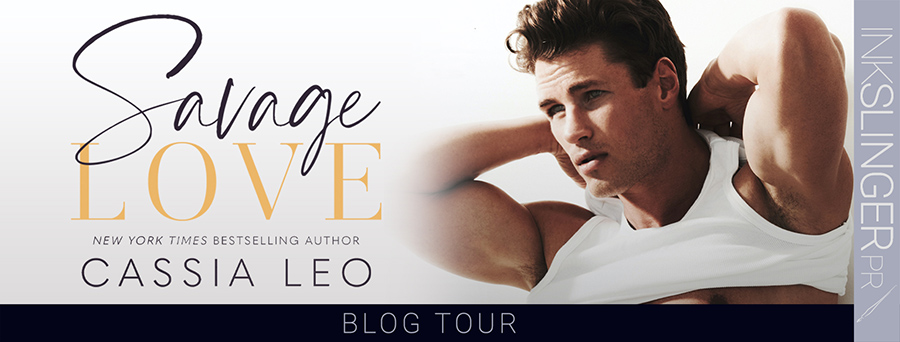 Welcome to the blog tour for SAVAGE LOVE, the first book in the adult contemporary romance series, Love Like This, by New York Times bestselling author Cassia Leo