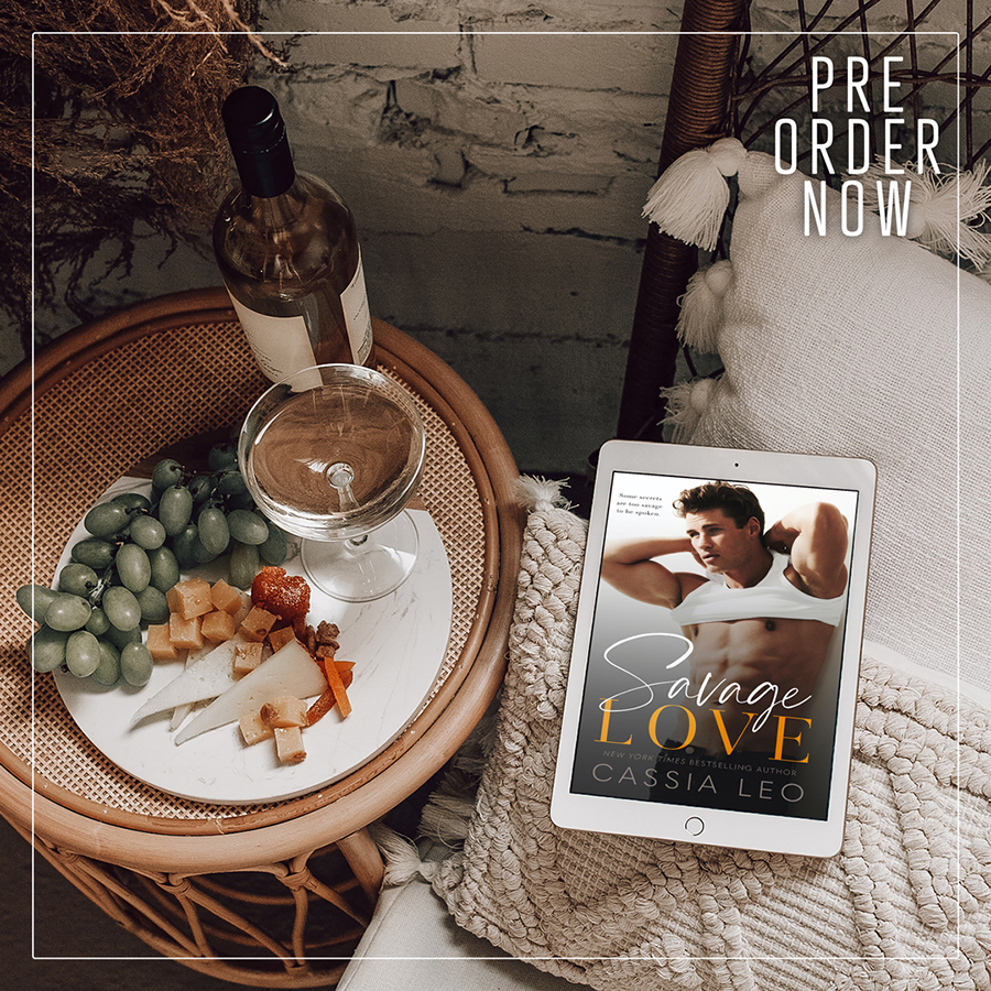 Preorder SAVAGE LOVE, the first book in the adult contemporary romance series, Love Like This, by New York Times bestselling author, Cassia Leo