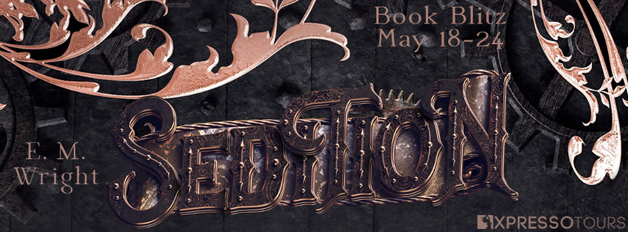 Welcome to the book blitz for SEDITION, the first book in the young adult steampunk series, Children of Erikkson, by E.M. Wright