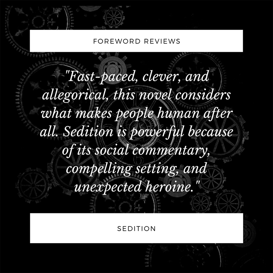 Teaser Excerpt from SEDITION, the first book in the young adult steampunk series, Children of Erikkson, by E.M. Wright