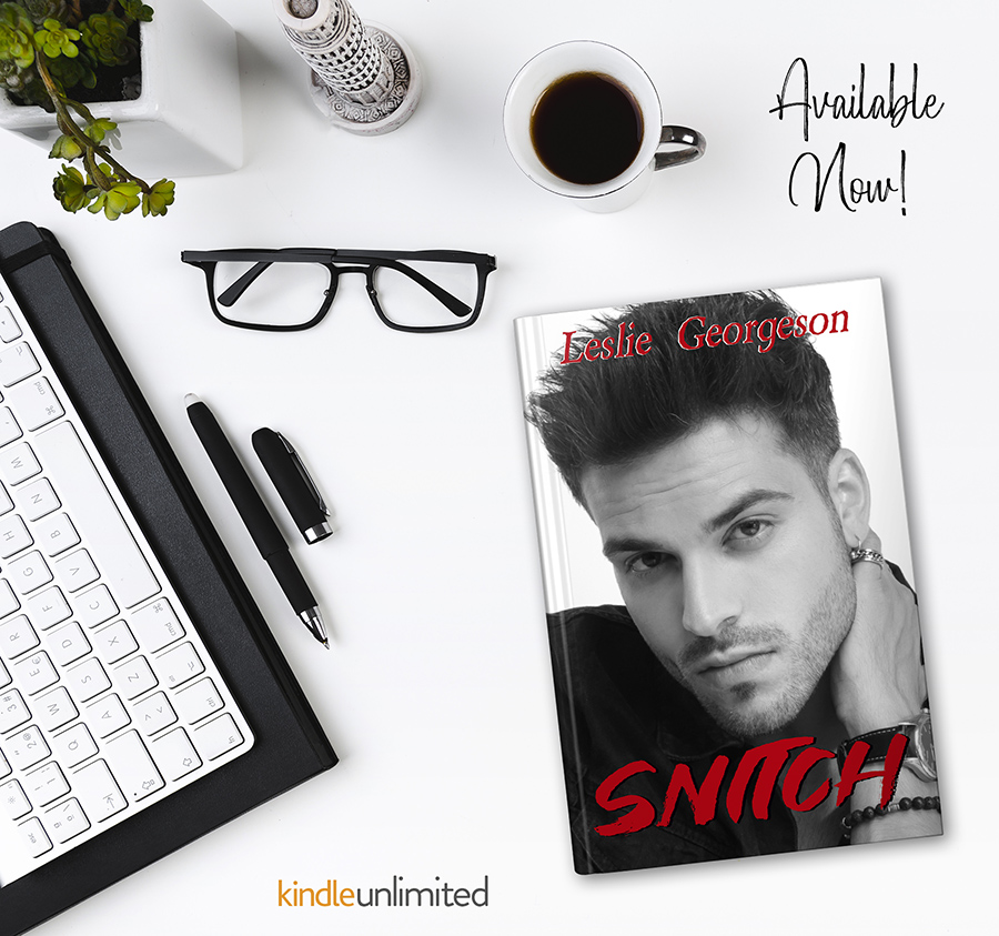 SNITCH, the second book in the adult romantic suspense series, Something Real, by Leslie Georgeson is available now