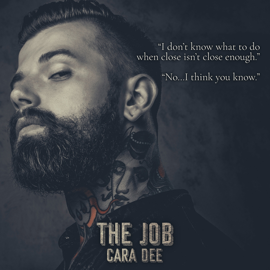 Teaser from THE JOB, the fourth book in the adult contemporary romance series, Auctioned, by Cara Dee
