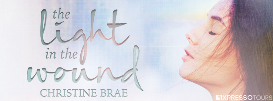 Author Christine Brae is revealing the cover to THE LIGHT IN THE WOUND, the first book in the adult contemporary romance/women's fiction series, The Light in the Wound, releasing September 1, 2021