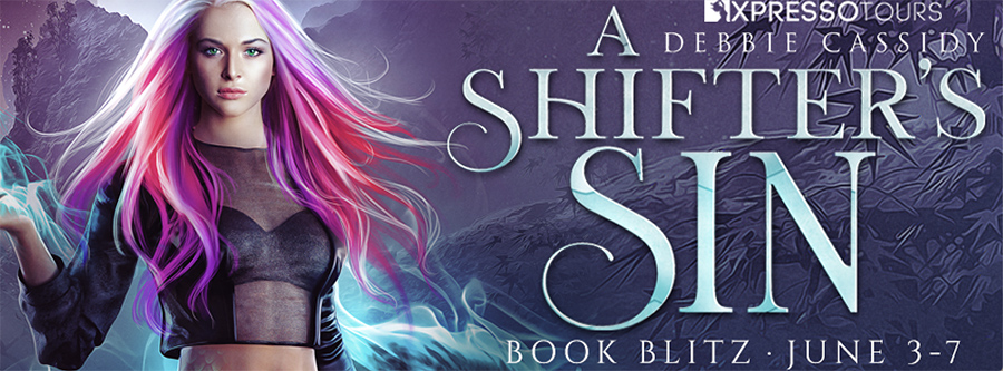 Welcome to the book blitz for A SHIFTER'S SIN, the first book in the adult urban fantasy romance series, Wolves of Hawthorne Cove, by USA Today bestselling author, Debbie Cassidy
