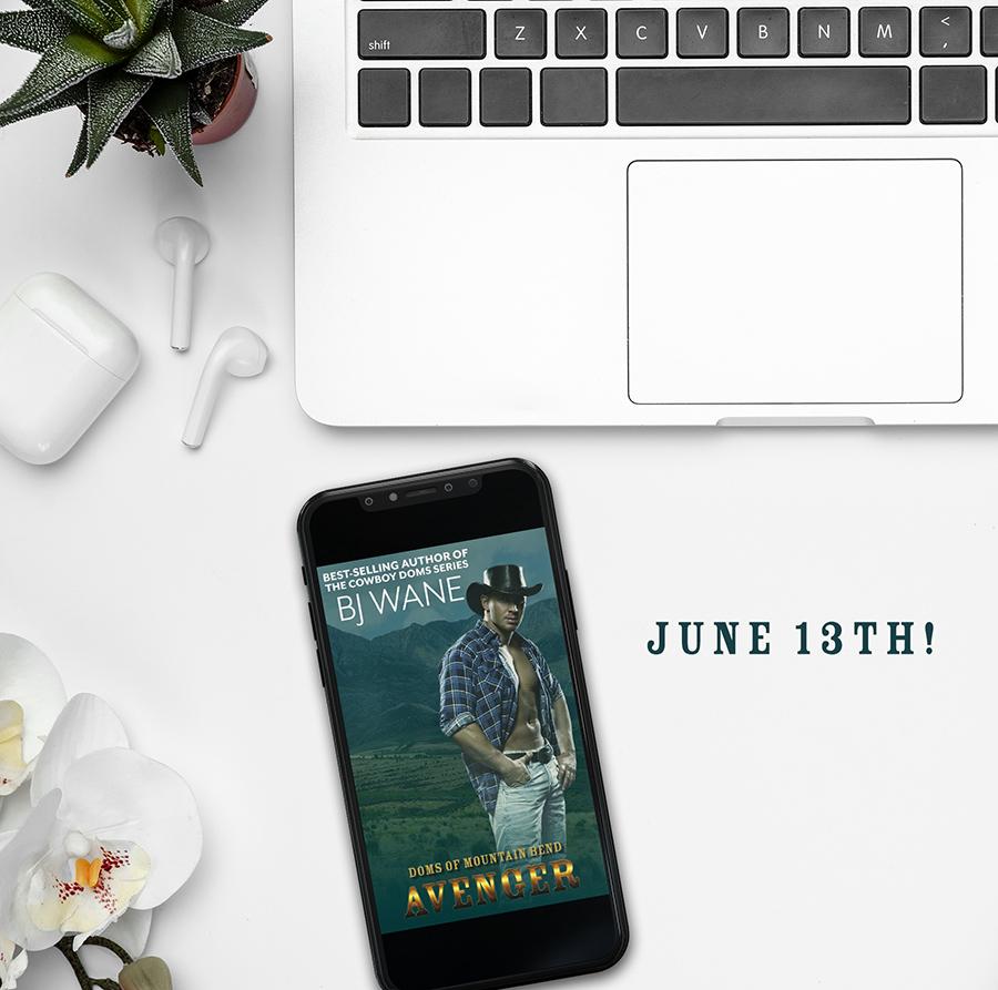 Teaser from AVENGER, an adult western romantic suspense novel by B.J. Wane
