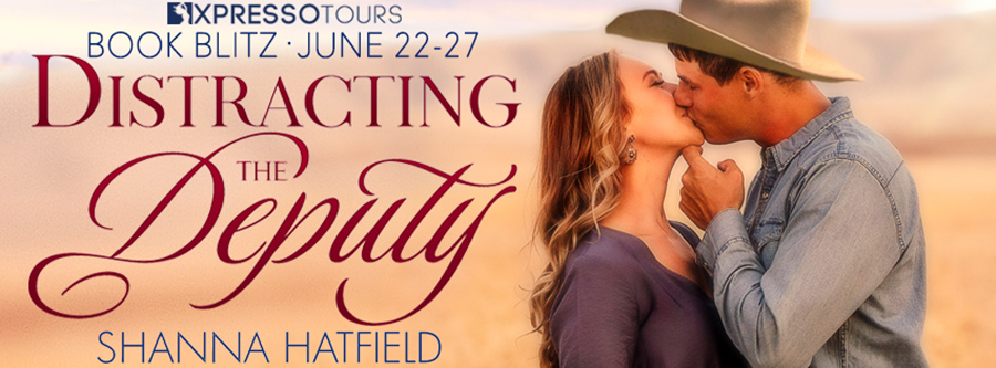 Welcome to the book blitz for DISTRACTING THE DEPUTY, the fourth book in the adult contemporary western romance series, Summer Creek,by USA Today bestselling author Shanna Hatfield
