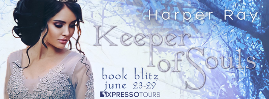 Welcome to the book blitz for KEEPER OF SOULS, the first book in the new adult paranormal romance series, The Revenant Trilogy, by Harper Ray, releasing June 29, 2021.