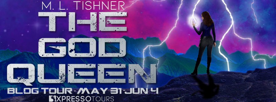 Welcome to the blog tour for THE GOD QUEEN, the first book in the new adult scifi fantasy series, The Rebirth Saga, by M.L. Tishner