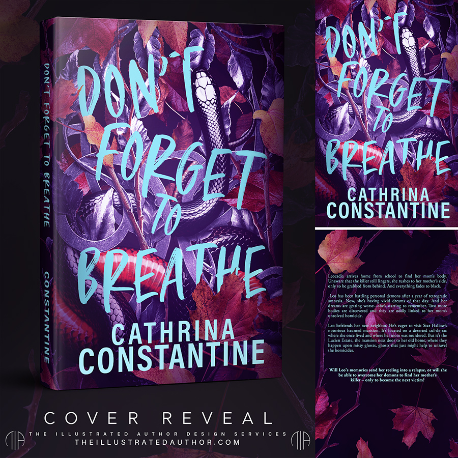 DON'T FORGET TO BREATHE, a standalone young adult mystery, by Cathrina Constantine is coming soon