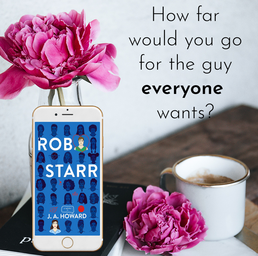 Teaser from ROB STARR, a standalone young adult contemporary romance, by J.A. Howard