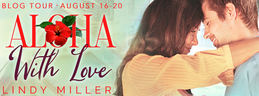 Welcome to the blog tour for ALOHA WITH LOVE, a standalone adult contemporary romance, by Lindy Miller with Terence Brody