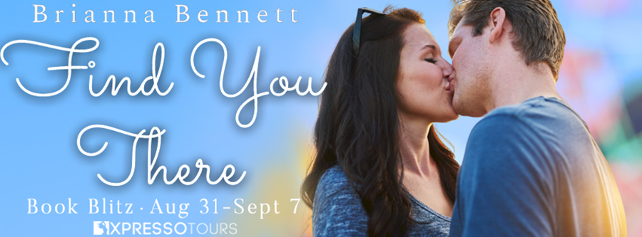 Welcome to the book blitz for FIND YOU THERE, the first book in the adult contemporary LGBTQ+ romance series, Harmony Lane, by Brianna Bennett