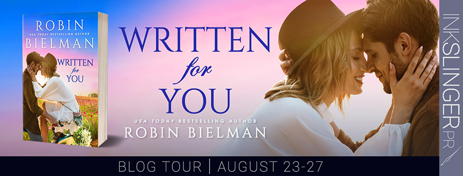 Welcome to the blog tour for WRITTEN FOR YOU, a standalone adult romantic comedy, by USA Today bestselling author, Robin Bielman