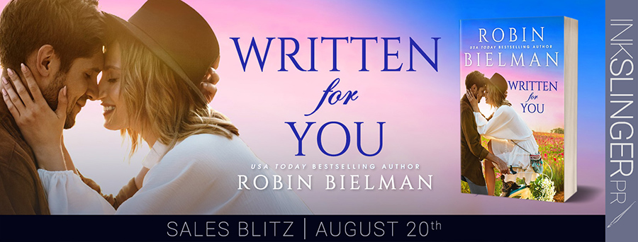 Welcome to the pre-release blog tour for WRITTEN FOR YOU, a standalone adult romantic comedy, by USA Today bestselling author, Rachel Bielman, releasing August 23, 2021