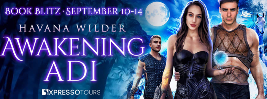 Welcome to the book blitz for AWAKENING ADI, the fourth book in the adult dystopian fantasy romance series, Iron Mountain, by Havana Wilder