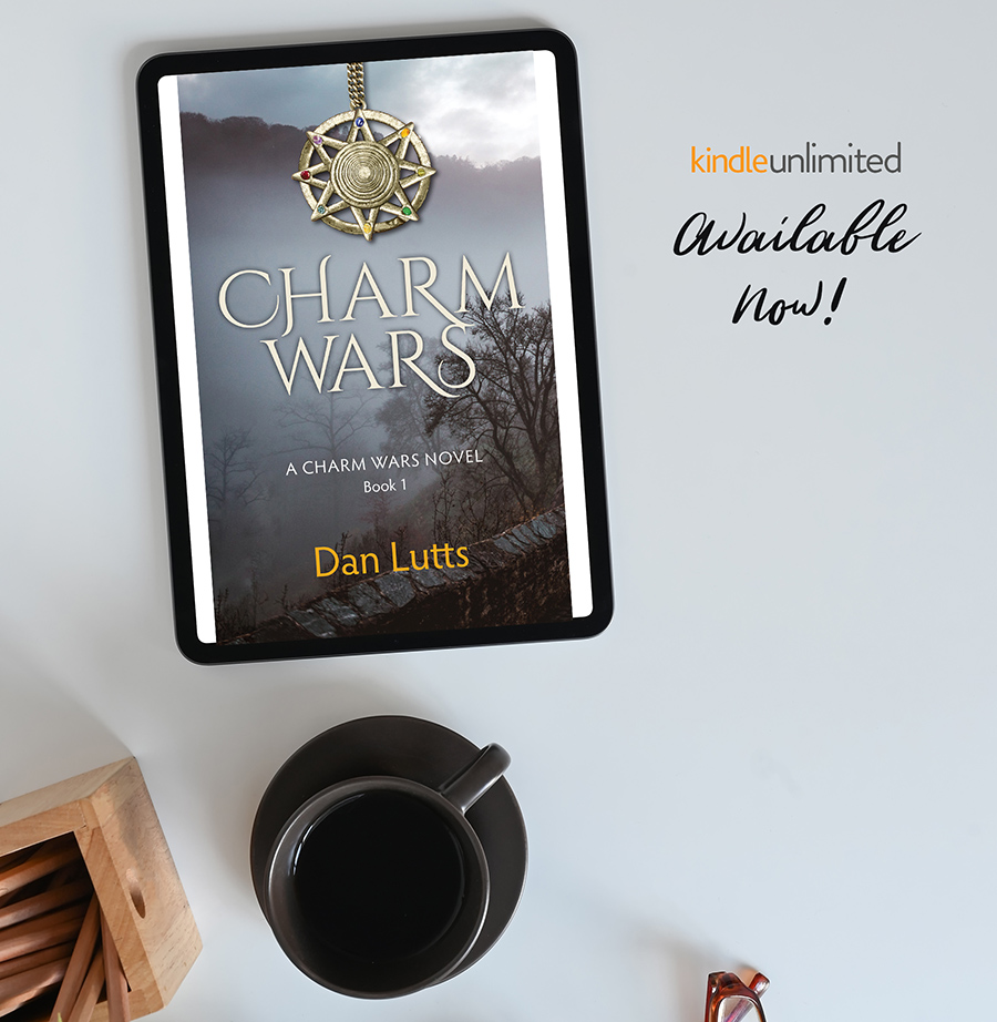CHARM WARS, the first book in the young adult fantasy series, Charm Wars, by Dan Lutts is out now!