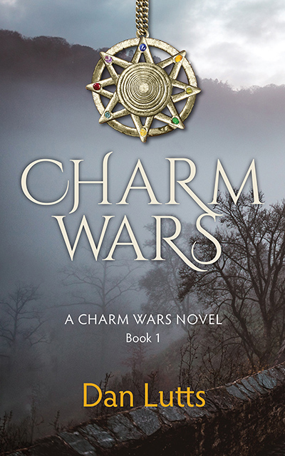 CHARM WARS, the first book in the young adult fantasy series, Charm Wars, by Dan Lutts