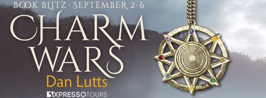 Welcome to the book blitz for CHARM WARS , the first book in the young adult fantasy series, Charm Wars, by Dan Lutts
